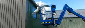 Cladding Spraying Leicestershire