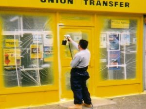 Shopfront Spraying Lincolnshire