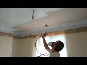 Ceiling Spraying Leicestershire