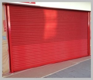Roller Shutter Spraying Nottinghamshire