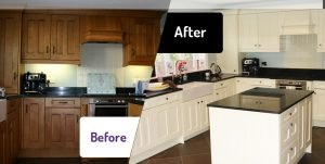 Kitchen Respraying Coningsby Lincolnshire